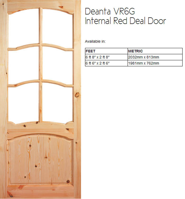Quality Irish Made Red Deal Doors Doras Door Providers